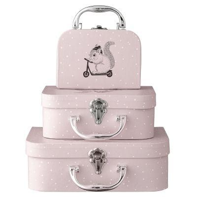 Set de 3 valises - Rose