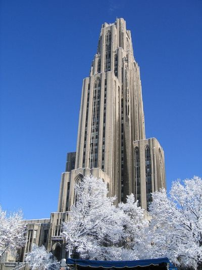 PITTSBURGH, PA: The cathedral of learning. Literally a temple to knowledge- ornate classrooms decorated with clothe, wood, and designs from different countries from around the world. And students use these like normal tutorial rooms! Amazing. Close to Andy Warhol Museum.