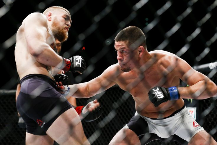 Nate Diaz Stuns Conor McGregor at UFC 196