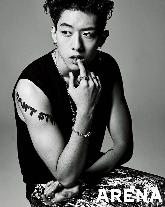 "CNBLUE's Kang Min Hyuk and Lee Jung Shin Turn into Punk Rockers for ""Arena Homme Plus"" 