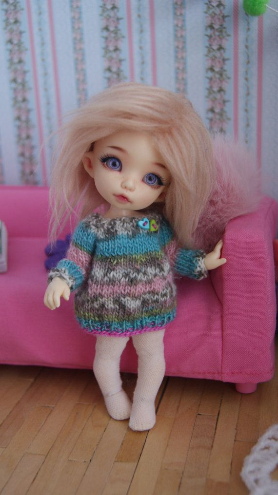 This dress fits Lati Yellow Dolls Dolls PukiFee by CocoDolls