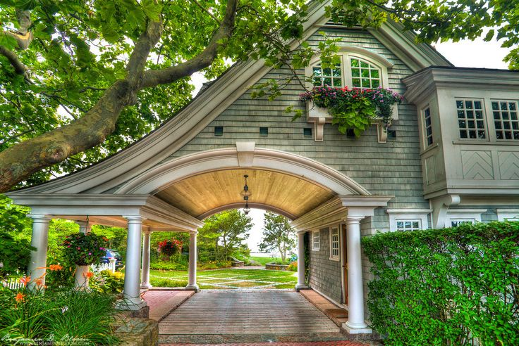 A carraige house on Watch Hill in Westerly, RI