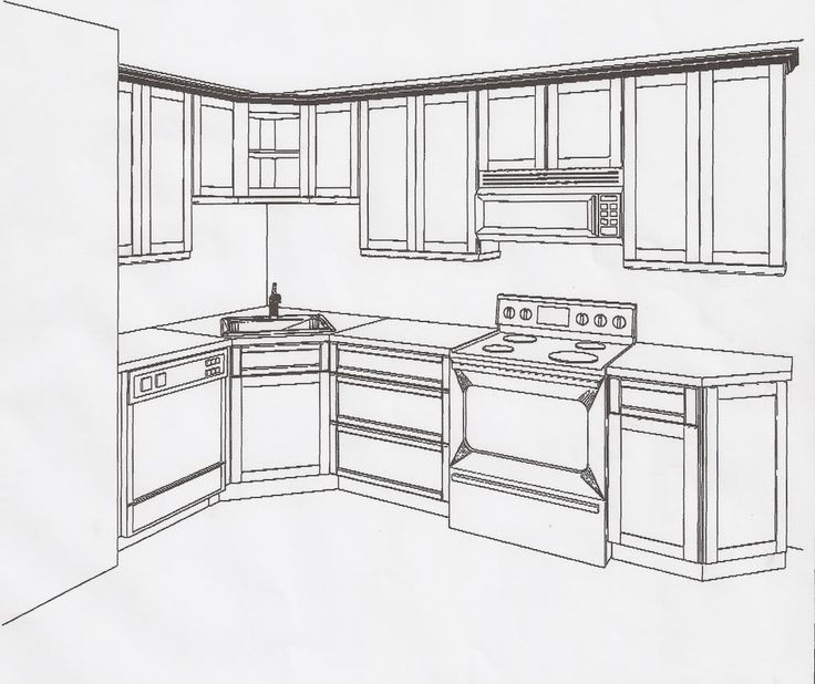 Small L Shaped Kitchen Design Plans: 28 Best L-Shape Kitchen Ideas Images On Pinterest