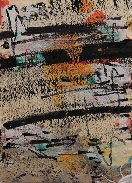 Sans titre (c. 1972) - Marcelle Ferron