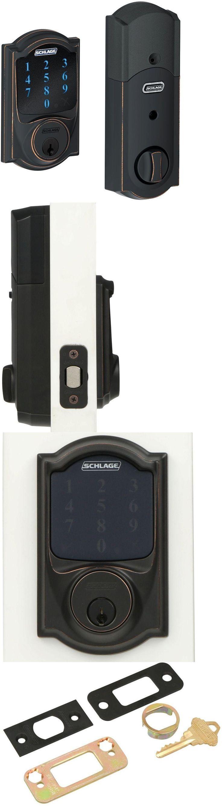 Door Locks and Lock Mechanisms 180966: Alarm Touchscreen Deadbolt Door Lock Wink Locks Keyless Wi Fi Wave Electronic -> BUY IT NOW ONLY: $241.65 on eBay!