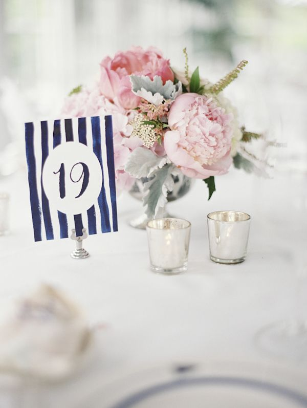 Wedding Decor Inspiration – 8 Adorable Table Number Ideas from Junebug's Real Weddings Library | Photo by: Geneoh Photography