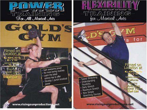 Martial Arts Fitness Karl List - 2 DVD Set