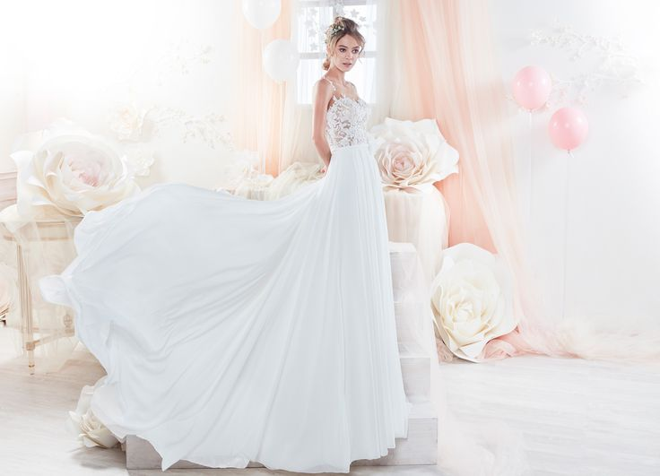 Moda sposa 2018 - Collezione COLET.  COAB18270. Abito da sposa Nicole.