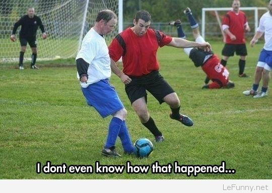Funny soccer fail | That would completely, 100%, be me... My teammates could attest to that hahaha