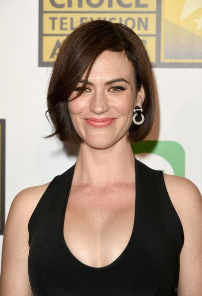 Maggie Siff attends the Critics' Choice Television Awards.