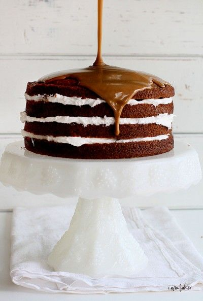 Coffee Cream Cake. Gorgeous!!
