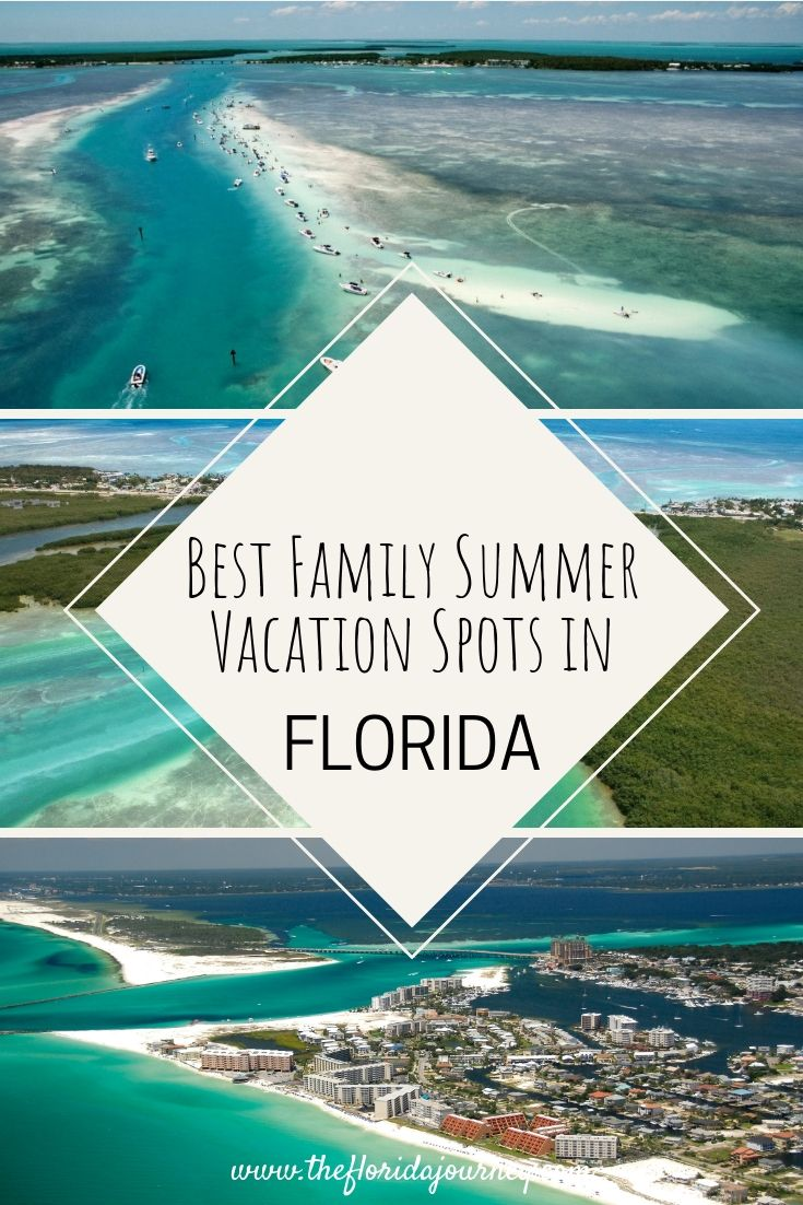 The Best Destinations In Florida For A Summer Family Vacation Family Summer Vacation Family Beach Vacation Florida Vacation