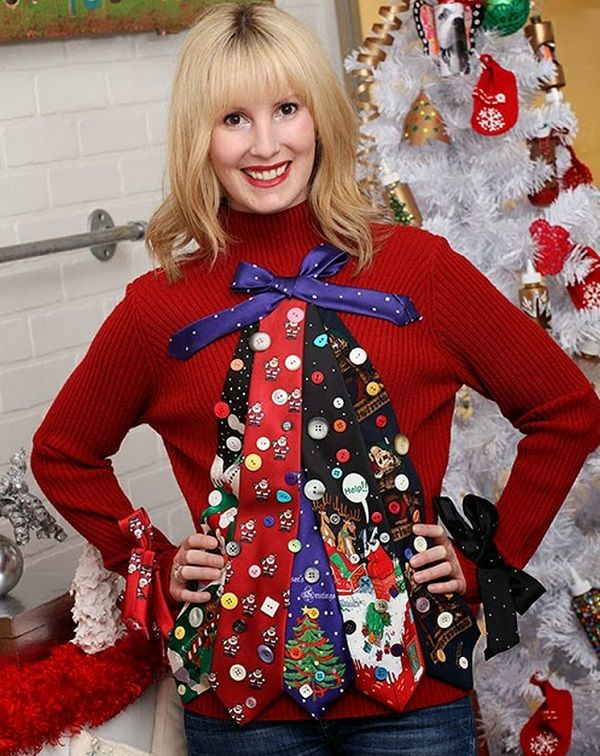 Raid the toy drawer for inspiration for this DIY ugly Christmas sweater. Description from coupons.com. I searched for this on bing.com/images