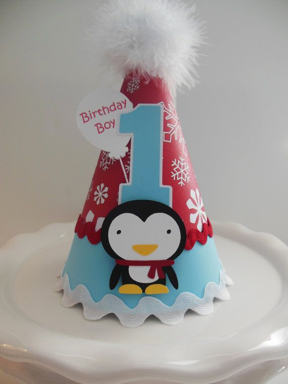Lil' Penguin Winter Onederland Birthday by SandysSpecialtyShop