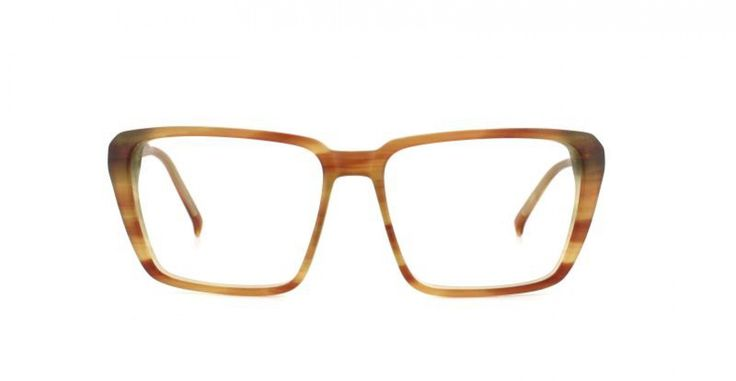 ADORKABLE I For the sexiest geek look in the world. A soft rectangular look with carved facets on the temples. Classic light havana for easy-going style.