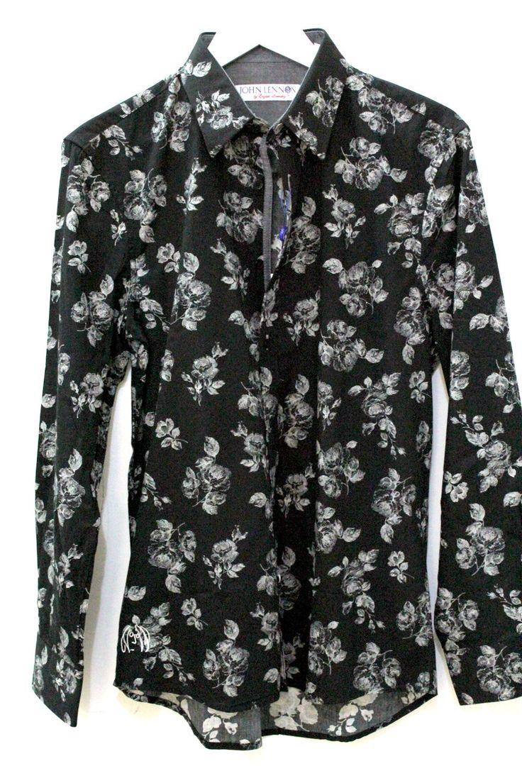 english laundry - John Lennon Black Bird Shirt