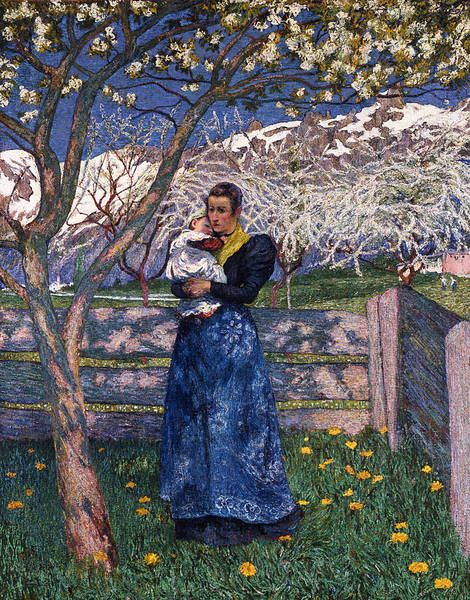 By Giovanni Giacometti.Flowering
