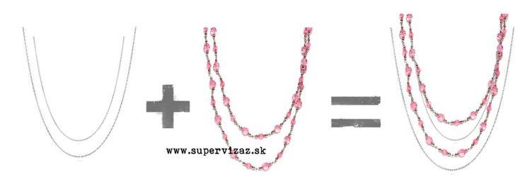 Vrstvenie náhrdelníkov