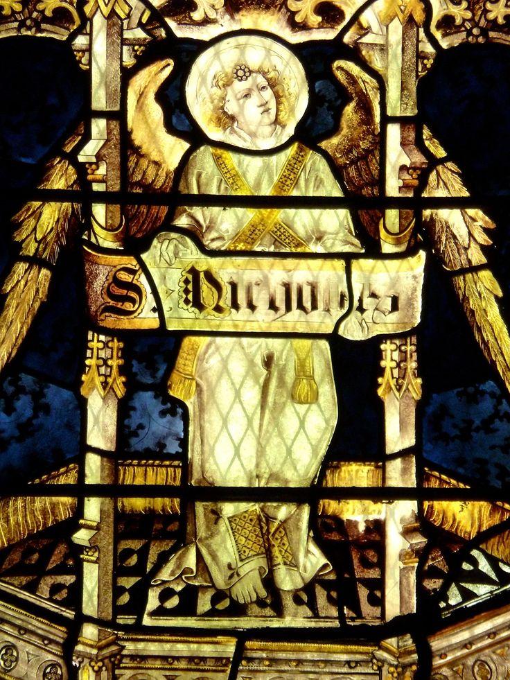 https://flic.kr/p/Vx4WbF | Arundel - St Nicholas Church - Stained Glass | St Nicholas, Arundel, Sussex  The St Nicholas Window.
