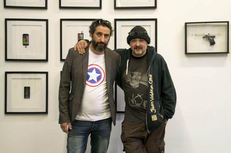 Miguel Ezpania y David Heras