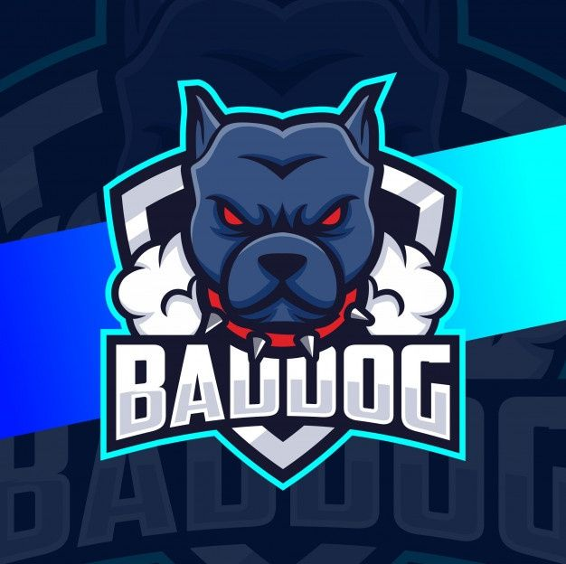 Bad Dog Head Mascot Esport Logo Design Premium Vector Freepik Vector Logo Dog Character Cartoon Dog Logo Design Mascot Design Logo Design