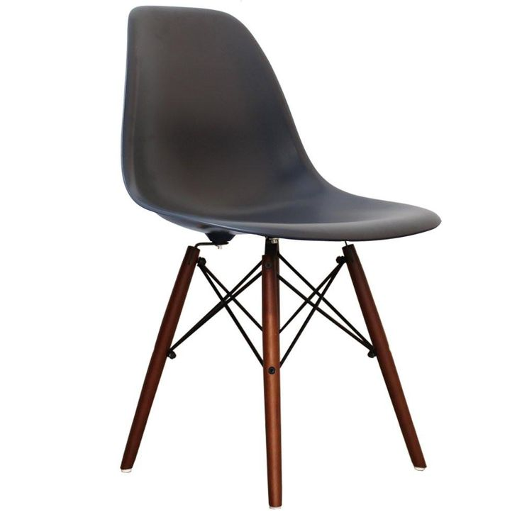 The Eames Eiffel DSW (Dining Side chair Wood) is a high quality reproduction of the now legendary Eames Fibreglass chair.Based on the original 1948 design – th
