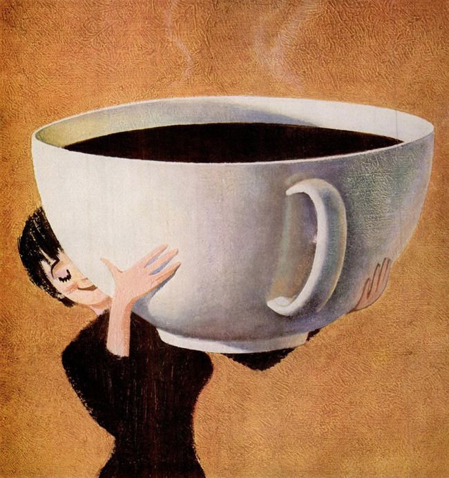 I, too, only have one cup a day - this is the size to scale of the traditional French bowl of coffee, I drink every morning.