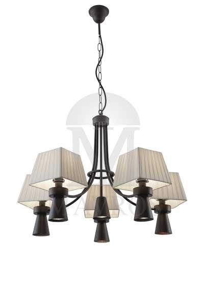Rustic 11-bulb chandelier | SMART-CAFE - MAVROS Lighting