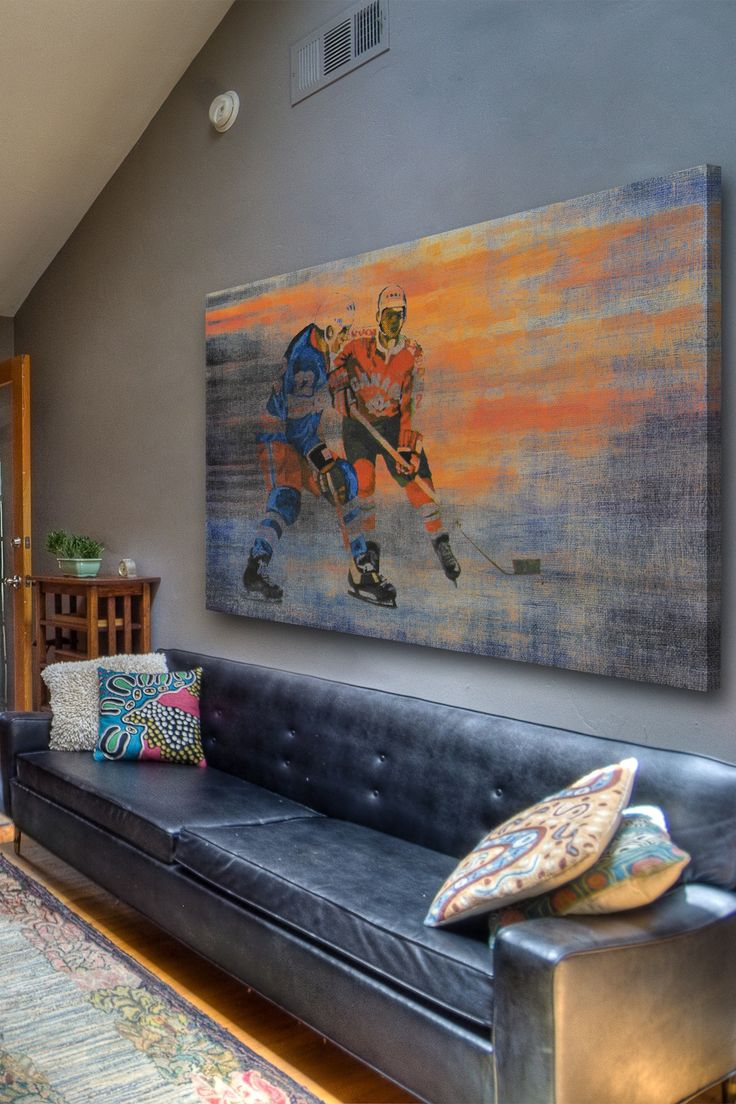 For Steve- USA vs. CAN Canvas Wall Art by Marmont Hill Inc. on @HauteLook 12x18 for $79, 40x60 for $229