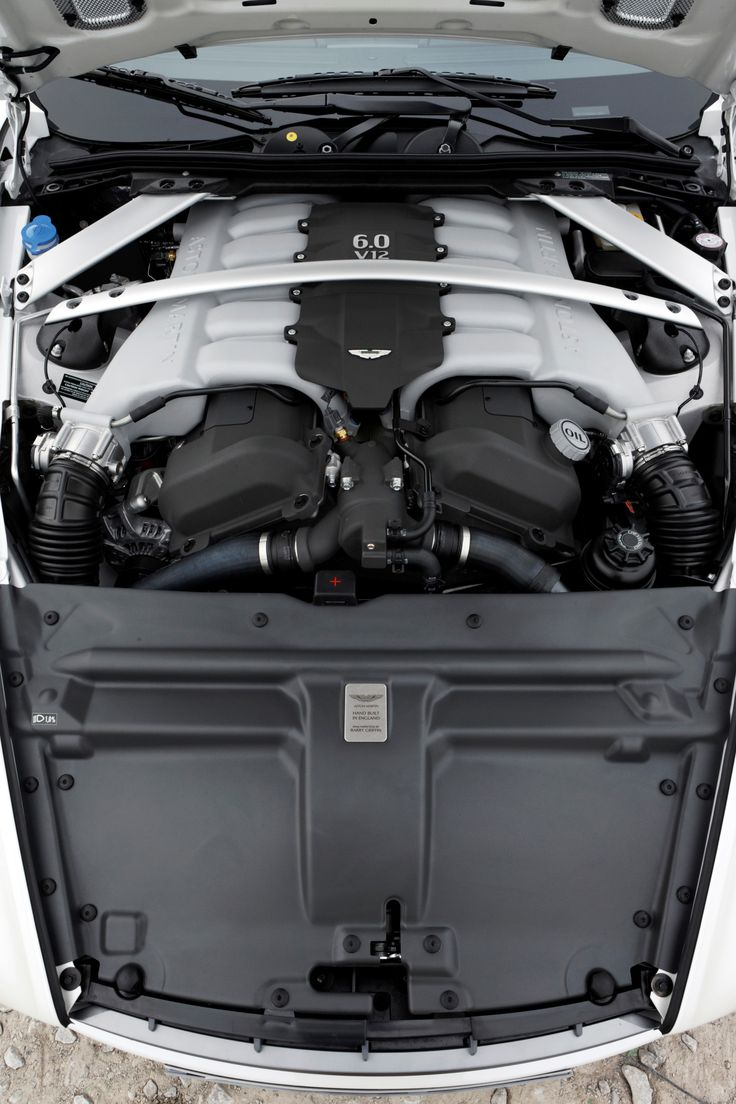 Aston Martin - 2003 - 2012   DB9 V-12 engine