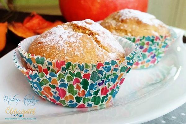 Sütőtökös muffin glutén, tej és tojás nélkül