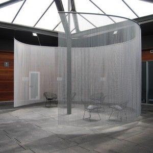 KriskaDECOR creates colourful  and imaginative chain curtains