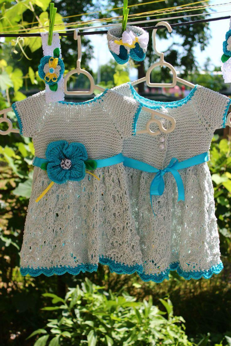 Dresses for twins-Rochite pentru gemene <3