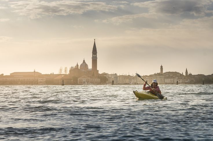 Kayak in Venezia © Ruggero Arena