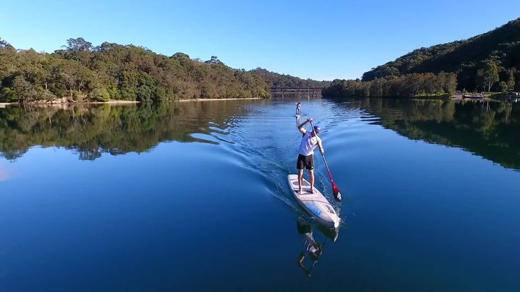 SUP training at Roseville Chase SYDNEY Harbour - pure magic!