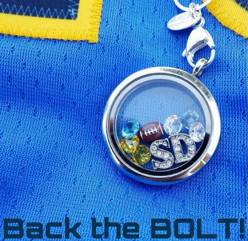 Origami Owl Football ideas! Contact me at veronicaslockets@gmail.com or http://www.facebook.com/veronicaslocket!