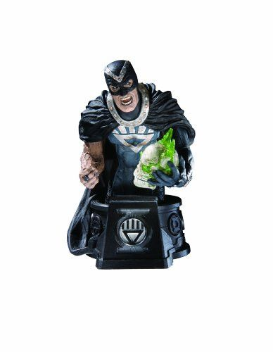 DC Direct Heroes of the DC Universe: Blackest Night: Black Hand Bust