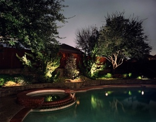 Outdoor lighting was rated the most popular outdoor living trend for 2011. Kichler Lighting http://www.poolspaoutdoor.com/blog/entryid/45/top-10-outdoor-living-trends.aspx