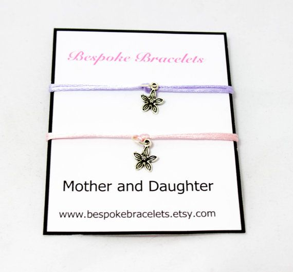 Mother and daughter bracelets! Perfect as a mothers day gift!