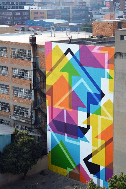 """ABOVE, """"Incognito"""", in Johannesburg, South Africa, 2015"""