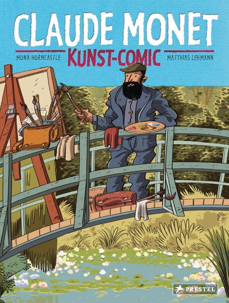 """Moderne Kunst für Kinder """"Claude Monet"""" einfach erklärt."""