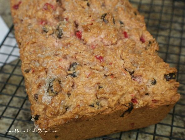 Trinidad Coconut Sweet Bread