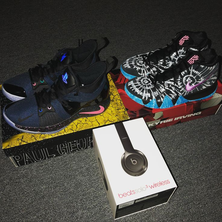 Got some cool stuff lately  #Kyrie #KyrieIrving #Kyrie4 #PaulGeorge #PG #PG13 #PG2 #PG2PS4 #PG2PlayStation #PlayStation #PlayStation4 #Sony #BeatsByDre #Kobe #KobeBryant #KB24 #BallisLife #Basketball #NBA
