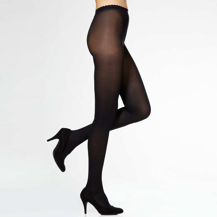 Collants Body Touch Opaque 40D de 'DIM'                             noir Lingerie du s au xxl