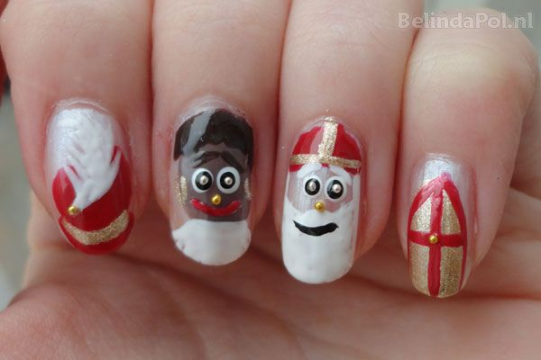 Sinterklaas nagels 2013