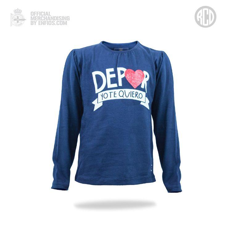"""Camiseta """"YOTE"""" Real Club Deportivo de la Coruña"""