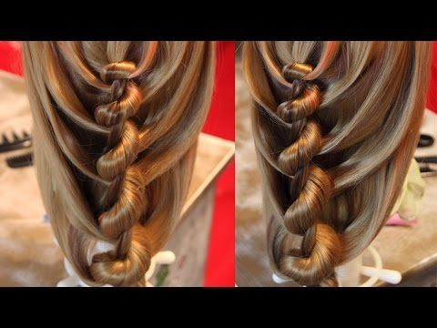 Спиральная коса - Hairstyles by REM - YouTube