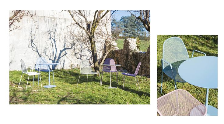Moon collection is composed by chairs and armchairs with or without armrests, which permit to take advantage of outdoor spaces rediscovering a real harmony with nature. Effective elements to meet different requirements. _ www.sitia.com