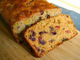 Sugar-free honey tea bread. (with honey, though!) This is what I had for breakfast at 5am while watching the royal wedding last year :-)