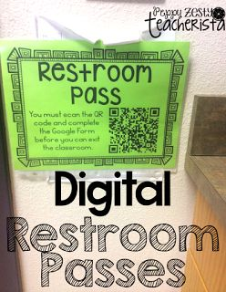 Digital Restroom Passes: iTeach 3rd